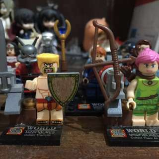 Lego COC Clash of Clans Barbarian & Archer