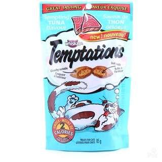 (3 for $10.00)Whiskas Temptation Cat Treats 85g