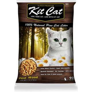 Kit Cat Pine Cat Litter 14L