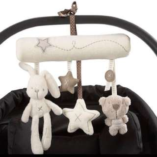 Musical Stroller Hanging Toy