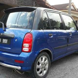 Perodua Kelisa (A) Limited Edition 2004