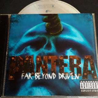 pantera (far beyond driven) cd metal