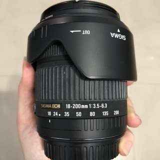 Sigma 18-200mm (Canon)