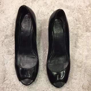 Colehaan Wedge shoes, patent leather