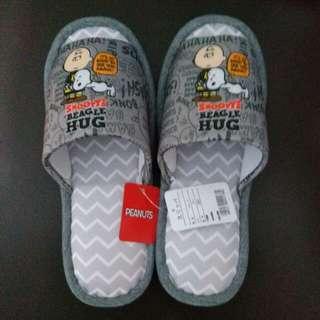 Snoopy史路比日本正版拖鞋