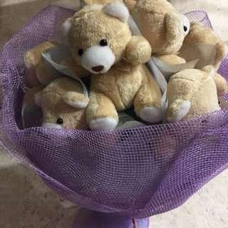 Bears bouquet