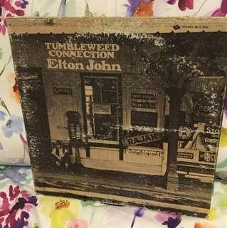 Elton John - lp vinyl - tumbleweed
