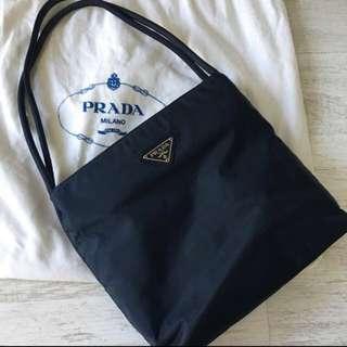 Authentic Prada Handbag (Navy blue)