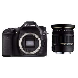 Canon 80D with Sigma 17-50mm f2.8 Lens (Price Reduced)