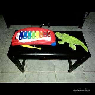 Little Tikes Xylophone & Plush Toy Croc