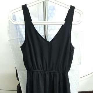 hnm mini black dress
