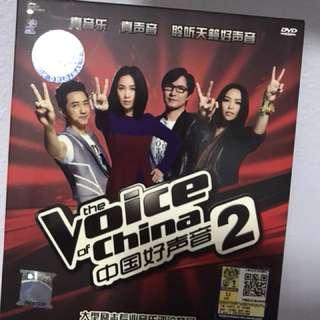 The Voice of China 2   中国好声音2  DVD