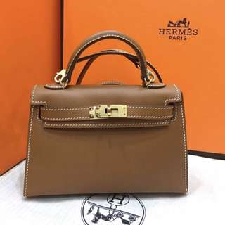 Hermes kelly 20cm gold ghw mirror replica