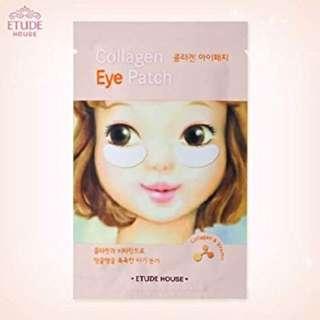 Etude House Collagen Eye Patch Eye Mask