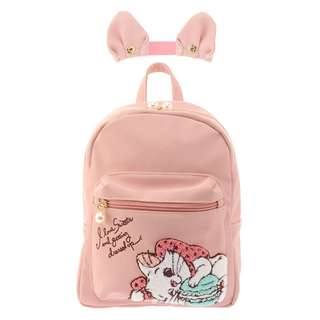 Disney Store CAT DAY 2018 Backpack Marie Sagarao リュックサック・バックパック マリー さがら織