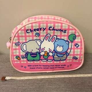 Cheery Chums pvc 化妝袋