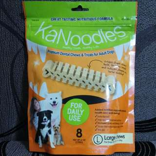 FORBIS KANOODLES PREMIUM DENTAL CHEW - LARGE 170g