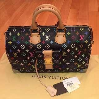 Louis Vuitton Monogram Multicolor Speedy 40 Bag