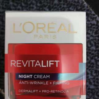 Revitalift Night Cream