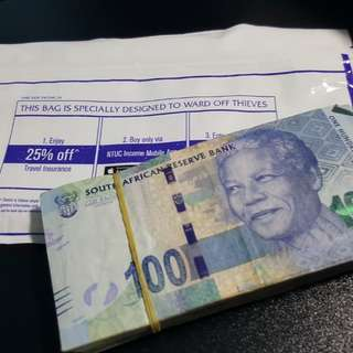10k Rand, South Africa Currency