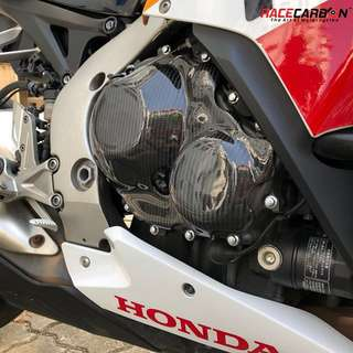 [High Strength] Carbon Fibre Engine Protection Covers for Superbikes ONLY. For Sale/Re-Order