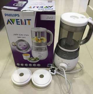 Phillip Avent 4-in-1 Baby Fiod Maker