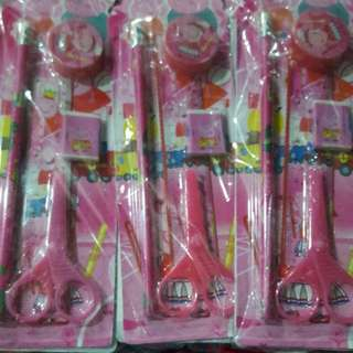 Peppa Birthday Giveaways Stationery Set