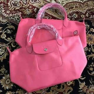 Longchamp Neo Pink original store