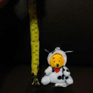Winnie the pooh 小熊維尼生肖狗年斑點狗公仔