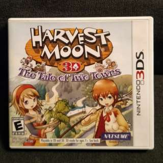 3DS Harvest Moon 3D: The Tale Of Two Towns