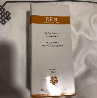 REN micro polish cleanser BNIB