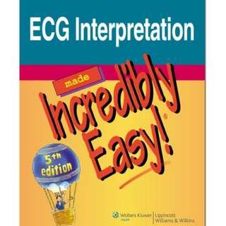 Ebook ECG Interpretation Made Incredibly Easy! 5th edition