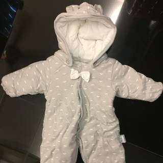 Winter overall/ jacket 0-3 months