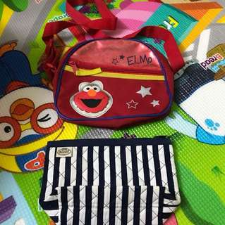 Elmo and naraya bag