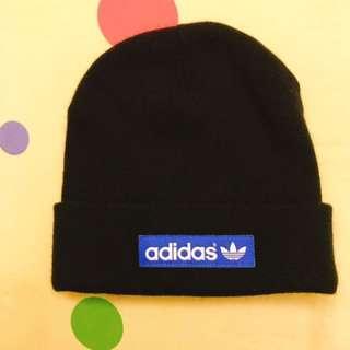 🚚 愛迪達🖤黑色毛帽