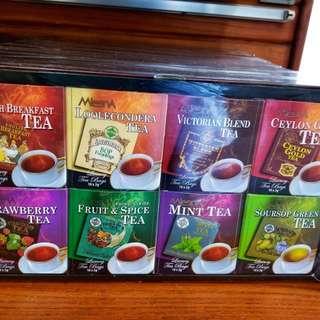 Mlesna 8款茶禮盒裝(共80個茶包)