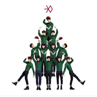 exo miracles in december album k version