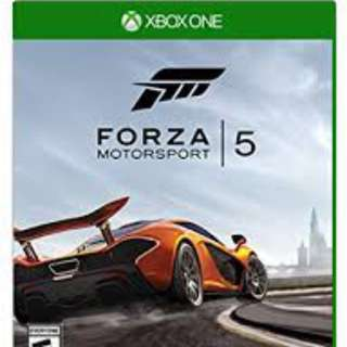 Forza Motorsport 5 Xbox One Game Code