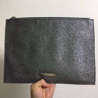 Nine West Silver Bling Bling Clutch