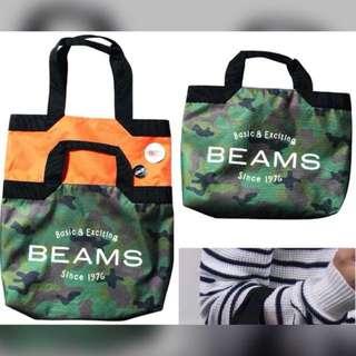 BEAMS 兩用袋 two ways tote bag 全新 包平郵