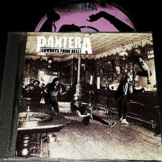 pantera (cowboys from hell) cd metal