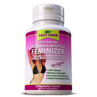BRAND NEW + IN STOCK - 500MG HIGH STRENGTH - UP SIZE - FEMINIZER FEMALE HORMONE ESTROGEN BREAST BUST FIRMING & ENLARGEMENT
