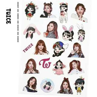 Preorder - TWICE STICKER exc.pos