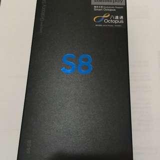 Samsung galaxy S8 (64 G 100%New)