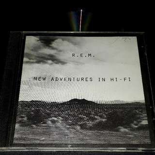 R.E.M (new adventures in Hi-Fi) cd