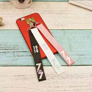 Preorder - GOT7 7FOR7 STRAP *PLEASE CHOOSE COLOUR exc.pos