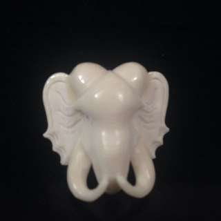 Thai Amulet ( Ivory)(25mm,)