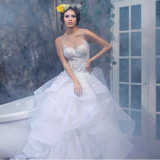 Fairy tales wedding gown