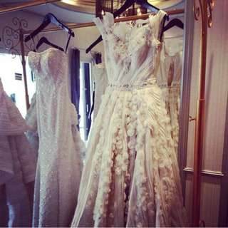 Fairy tale wedding gown size S