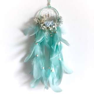 Minty Magic Dreamcatcher (Preserved flowers last 1 - 3 years)
